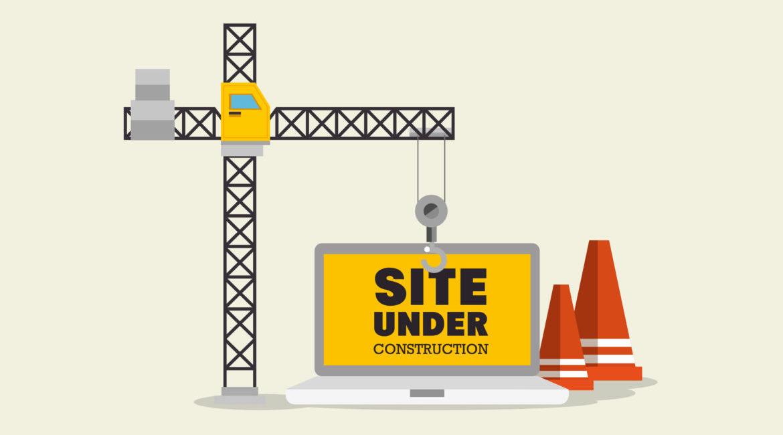 Risultato immagini per site under construction